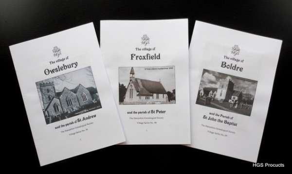 Latest Village Booklet Releases