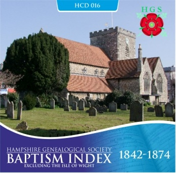 Hampshire Baptisms 1842 –  1874 (HCD016)