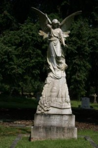 Angel at Brookwood Cemetery