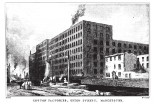 Early 19th Century Manchester Cotton Factories
