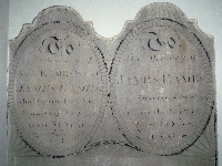 Memorial to James and Ann Eames