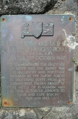 Commemorative Plaque in Enham-Alamein Graham Horn [CC-BY-SA-2.0], via Wikimedia Commons