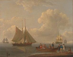 Wherry in 1825 similar to those in the Solent