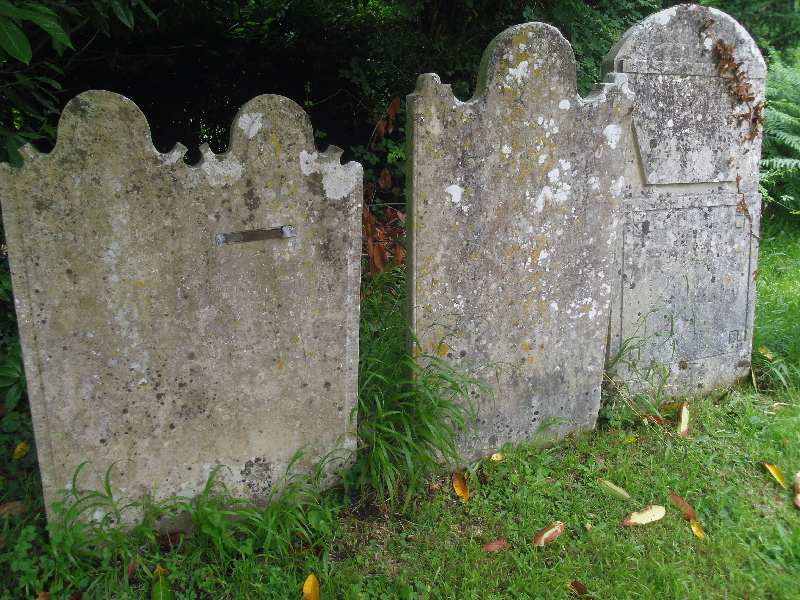 Post 17 - Bursledon gravestones